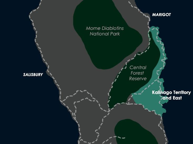 Kalinago Territory East Coast a virtual Dominica