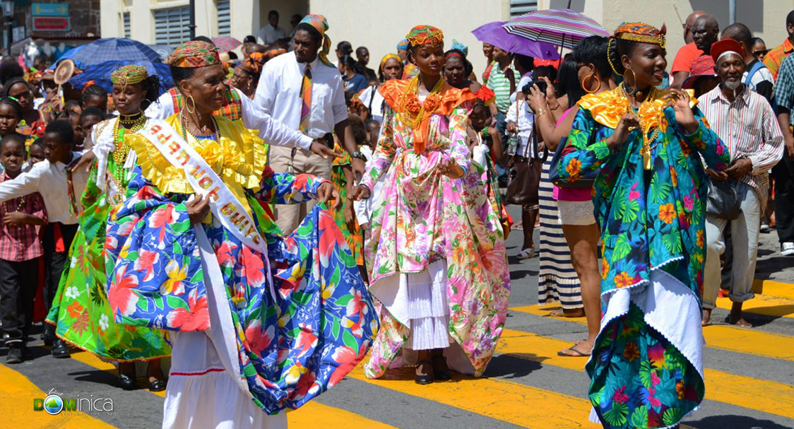 Traditional Dress A Virtual Dominica