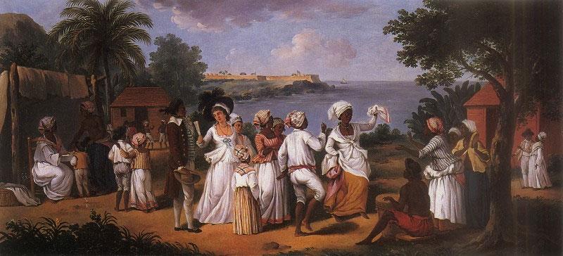 Agostino Brunias, Dance in Dominica
